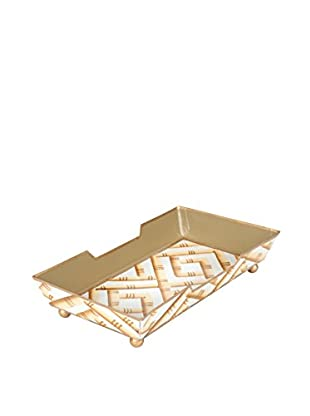 Jayes Bamboo Guest Towel Tray, Cream