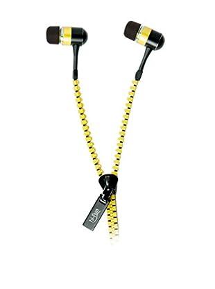 Hi-Fun Kopfhörer Hi-Zip gelb