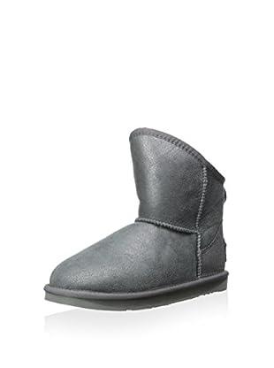 Australia Luxe Collective Womens Cosy X-Short Vintage Metallic Boot (Gunmetal)