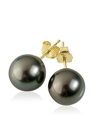 Manufacture Royale des Perles du Pacifique Ohrringe  grau