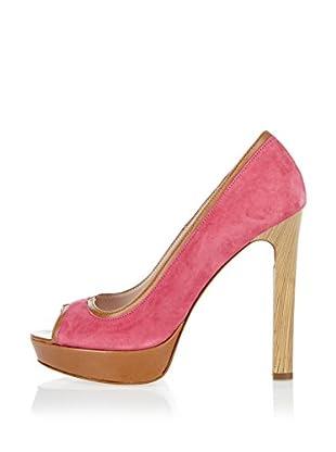 Niña Morena Zapatos Peep Toe