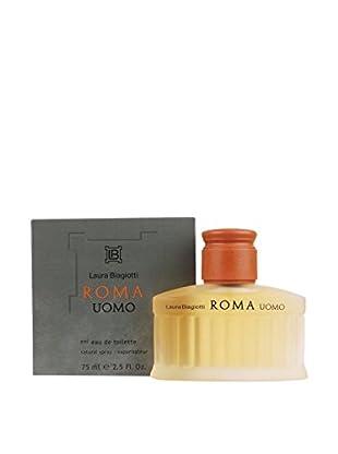 Laura Biagiotti Eau de Toilette Herren Roma Uomo 75 ml, Preis/100 ml: 46.6 EUR