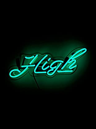 Oliver Gal High Neon Sign, Multi