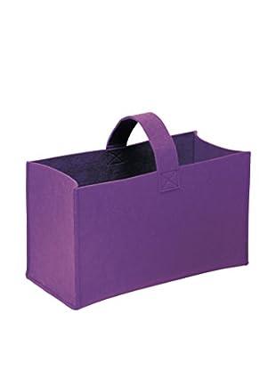 GIANNINI Korb für Kleinigkeiten violett