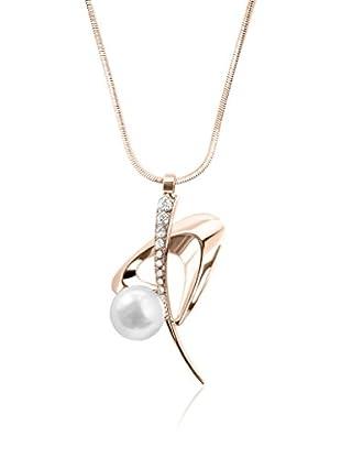 Annie Ram Collar Space Pearl Metal Rosado