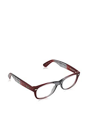 Ray-Ban Gestell NEW WAYFARER (50 mm) grau/bordeaux