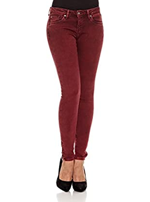 Pepe Jeans London Pantalón Elgin (Rojo Oscuro)
