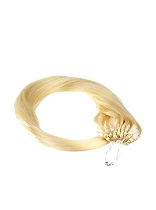Just Beautiful Hair and Cosmetics 200 Remy Loop Extensions 50 cm mit Microrings - #22 goldblond, 1er Pack (1 x 200 Stück)