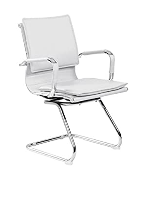 Global Trade  Set Silla De Oficina 2 Uds. Pechino/V Blanco