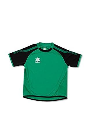 Luanvi Camiseta Manga Corta London (Verde / Negro)