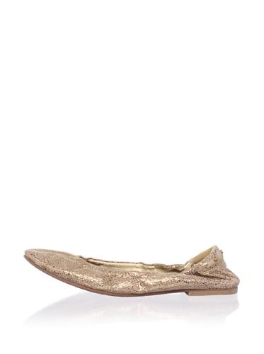 Matt Bernson Women's Waverly Ballet Flat (Bronze)