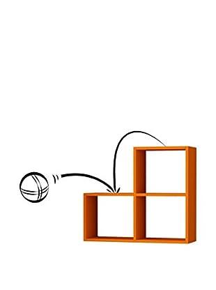 Matte Maison  Regalbrett Bounce orange