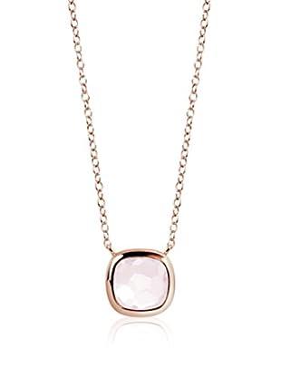 DI GIORGIO PARIS Halskette Dgm74Qz vergoldetes Silber 18 Karat