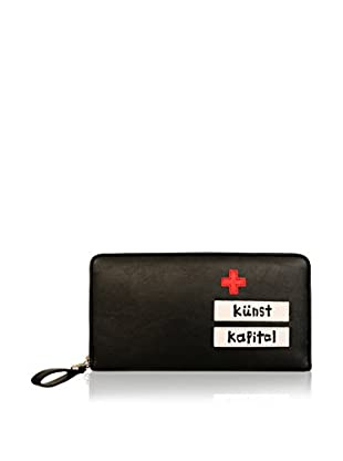 davidelfin Cartera Big Wallet Negro