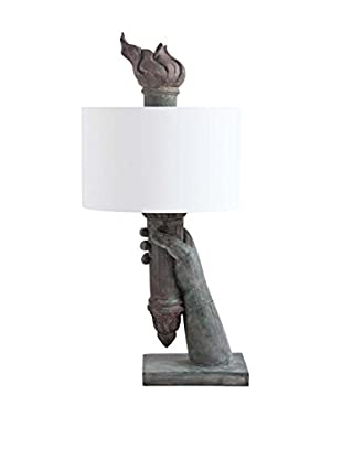 Mercana Libertad II 1-Light Table Lamp, Gray