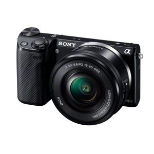 ソニー デジタル一眼カメラ α NEX-5Rズームレンズキット ブラック NEX-5RL/B
