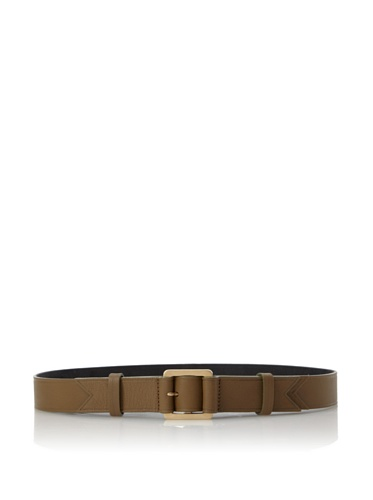 Meredith Wendell Women's Embossed Leather Belt (Olivey)