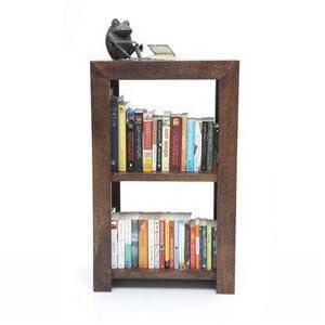 Beem 2 Shelf Book Case-Beige