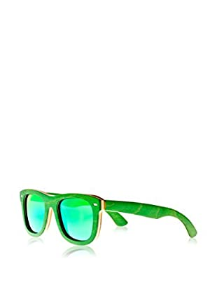 Earth Wood Sunglasses Gafas de Sol Wood Malibu (52 mm) Verde