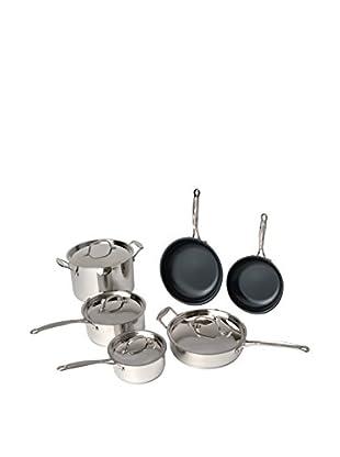 BergHOFF Earthchef 10-Piece Non-Stick Cookware Set, Silver