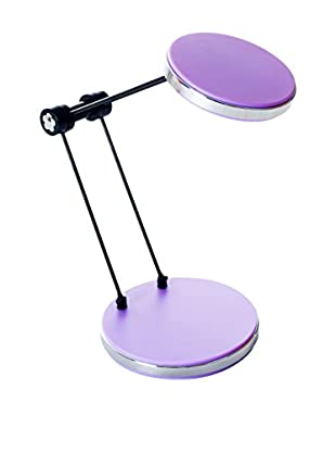 LED Foldable Desk Lamp with USB, Purple