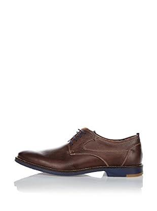 Fretz Men Zapatos Derby Domingo (Moca / Azul)