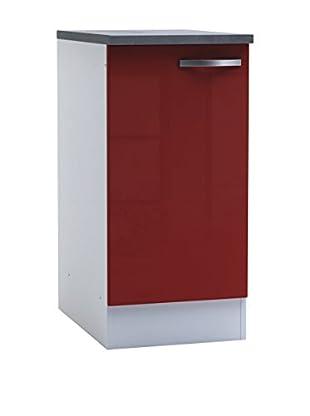 13Casa Mueble De Cocina Rojo