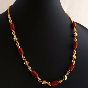 Mirraw Laxmi Pendant Temple Jewellery Necklace