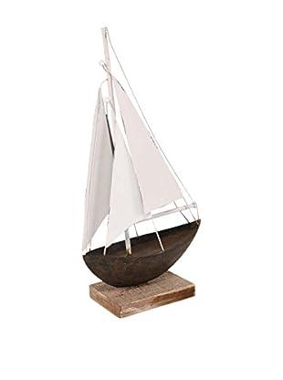 Mercana Wooden Boat Model