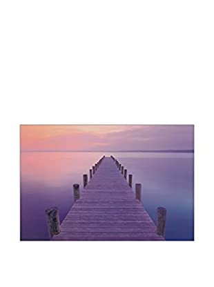 ARTOPWEB Panel Decorativo Jetty Sunrise 60x90 cm