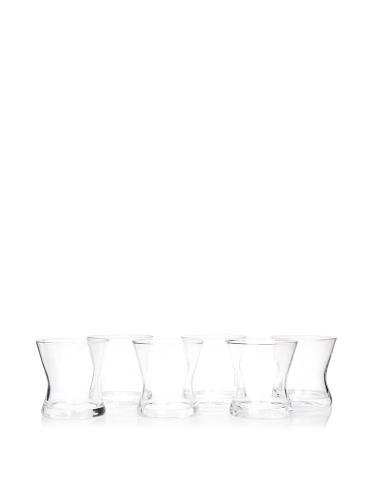 Artland Set of 6 Soho DOF Glasses, Clear
