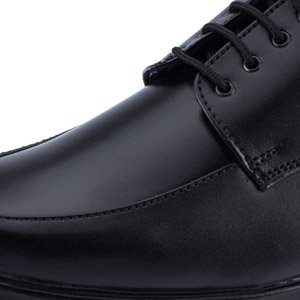 Milano Formal Shoes (Black) - Milano Men ECO-455