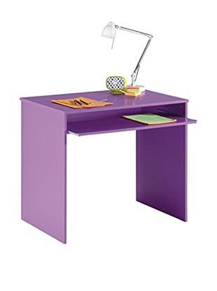 Office Ideas Schreibtisch Hugo C8 lila 90 x 54 x 79H cm