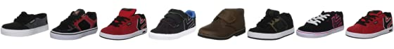 Etnies Kids Jameson 2 Fashion Sports Skate Shoe