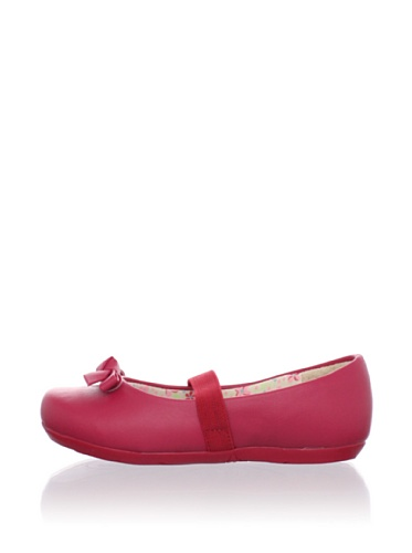 Pampili Kid's Bow Mary Jane (Red)