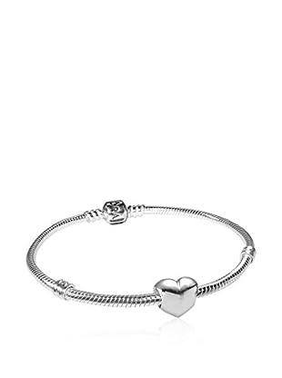 Pandora Conjunto de pulsera y charm  plata de ley 925 milésimas