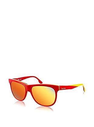 Diesel Sonnenbrille DL0112-68G (58 mm) rot/gelb