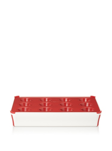 Reston Lloyd 12-Cup Muffin Baking Set (Red)