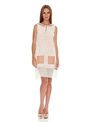 Titis Clothing Vestido Lila Guipur (Beige)