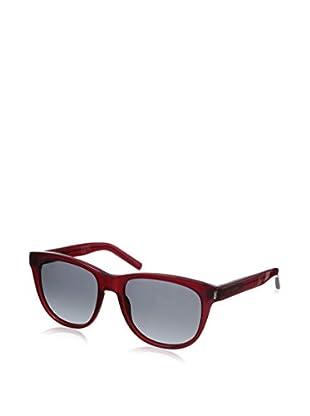 Saint Laurent Women's CLASSIC 3 Sunglasses, Transparent Red