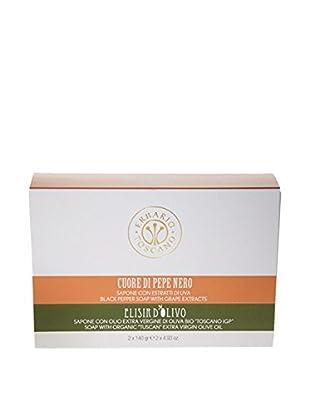 Erbario Toscano Black Pepper & Olive Complex Soaps Gift Set, 9.86-Oz.
