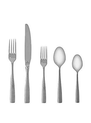 Fortessa 20-Piece Ringo Stainless Steel Flatware Set