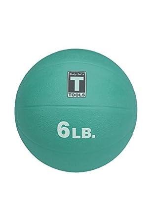 Body Solid 6 lbs. Medicine Ball, Aqua