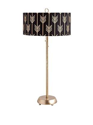 Mercana Isalote II Table Lamp, Black/Gold