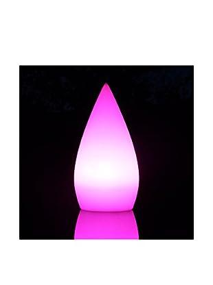 Artkalia Droppia Wireless LED Teardrop, White Opaque