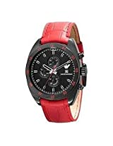 Emporio Armani Sportivo Red Leather AR5918 Men's Wrist Watch