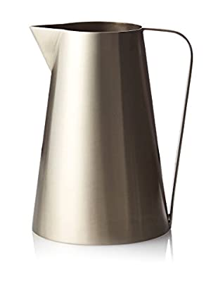 Calvin Klein Collection Iconic Tall Pitcher, Silver