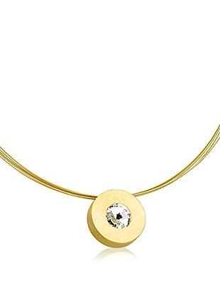 Steel Art Halskette Lumen vergoldet
