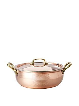 Ruffoni Historia 2-Handled 4-Qt. Copper Braiser with Lid