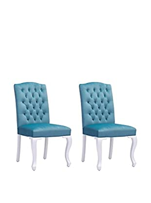 Zuo Set of 2 Bourbon Chairs